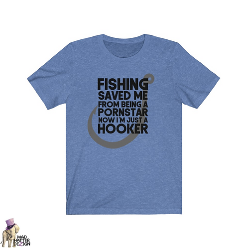 Fishing Saved Me Tee
