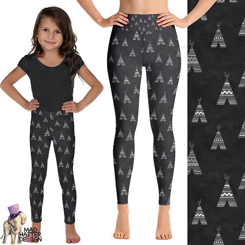 Teepees Leggings