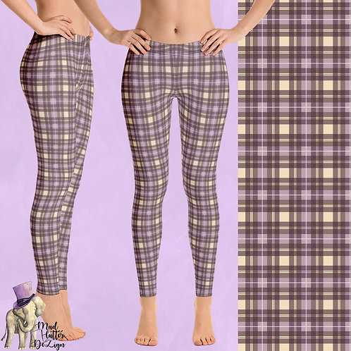 Vintage Plaid Purple (Yoga)