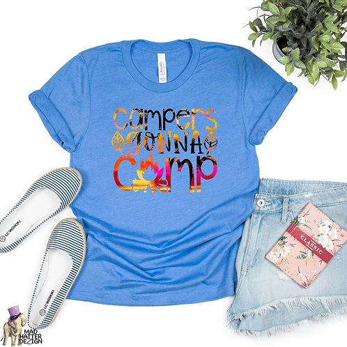 WS: Campers Gonna Camp Tee