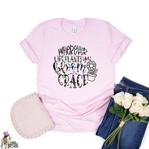 WS: Bloom With Grace Tee