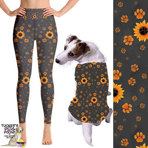 Sunflower Paws Dog Shirt
