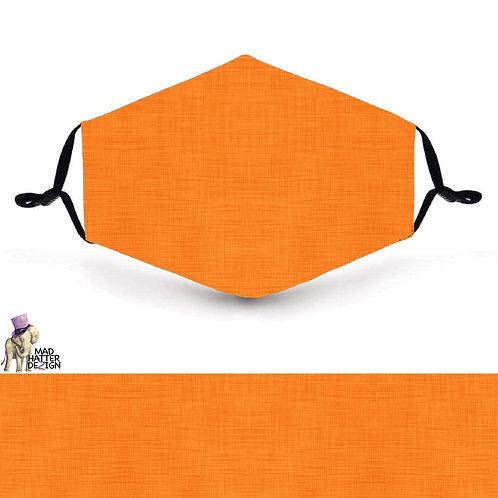 Linen Orange Mask