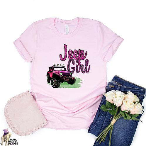 WS: Jeep Girl Tee