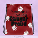 Pleasant Valley Cougar Proud - Bag Maroo