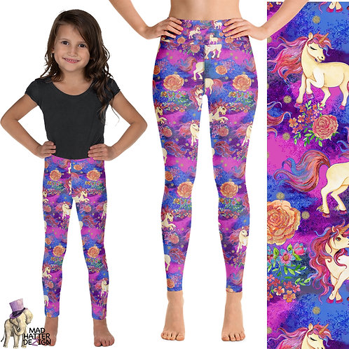 Unicorn Garden Leggings