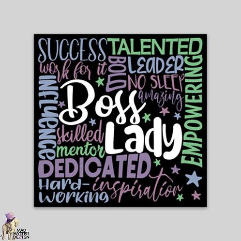 WS: Boss Lady Subway Art Magnet