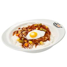 함박스테이크덮밥