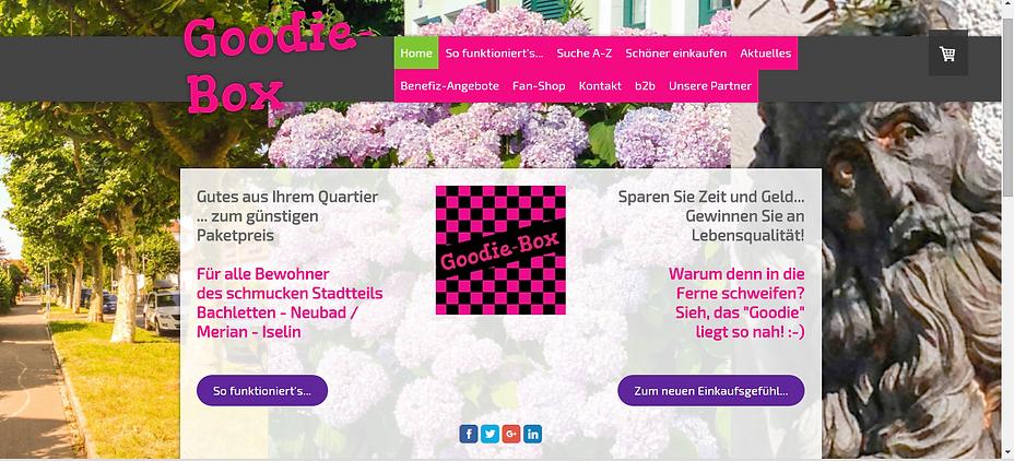 Website Goodie-Box