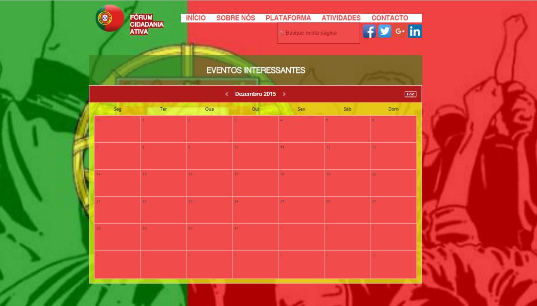 Online-Plattform Eventkalender