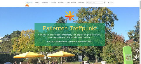 Online-Plattform Patienten-Treffpunkt