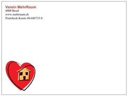Briefumschlag Vorderseite