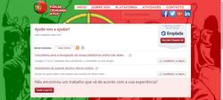 Online-Plattform, Freiwilligen-Suche