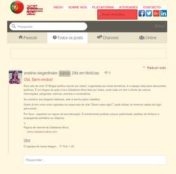 Politischer Chatroom / Blog