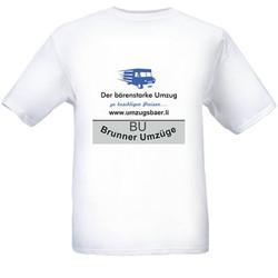 T-Shirt, Vorderseite
