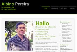 Bewerbungs-Homepage