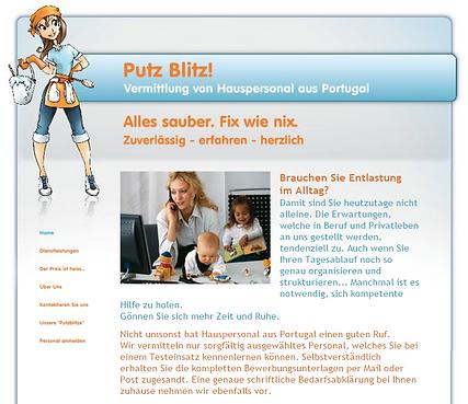Website Putz Blitz