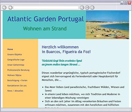 Website Atlantic Garden