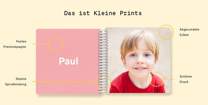 Kleine Prints Fotobücher LuxMotion Fotografie