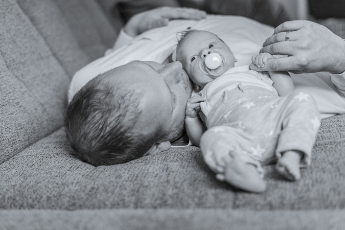 Homestory Neugeborenenshooting Montabaur
