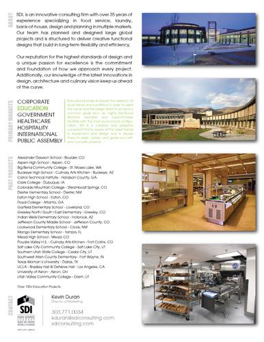 SDI Education Brochure