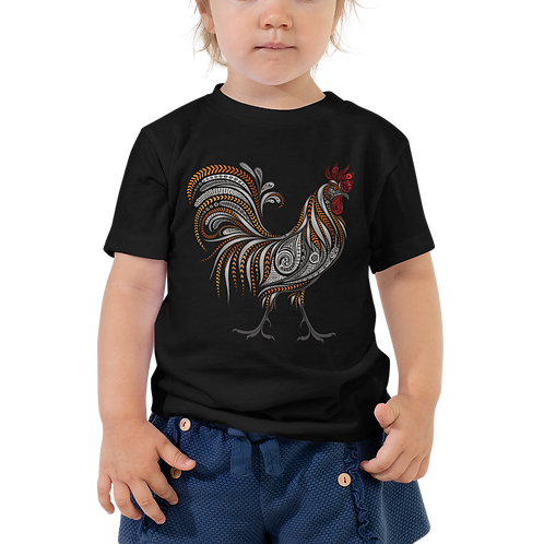 Boho Rooster Toddler Tee