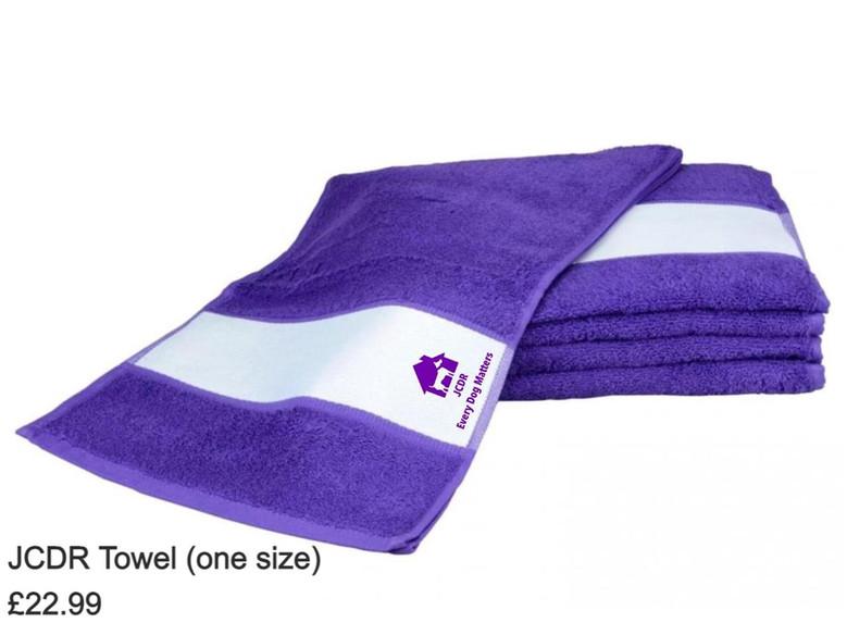 JCDR Towel