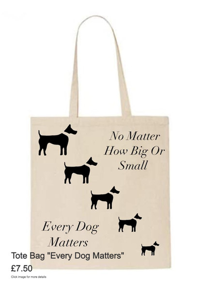 """Tote Bag - """"Every Dog Matters"""""""
