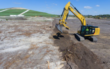 Breaking Ground at the Landfill