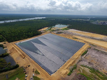Layered Lining System at the New Hanover County Landfill Progresses