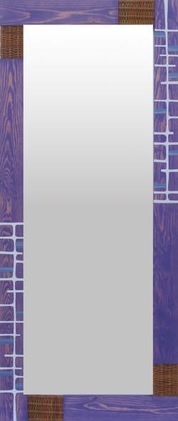 Espejo violeta líneas