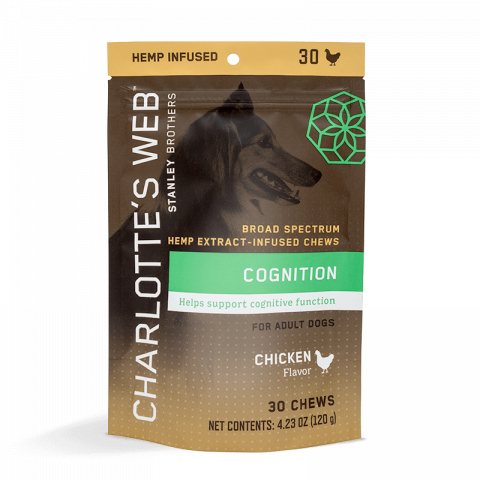 Charlotte's Web Canine Chew: Senior Dogs 30ct