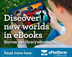 Discover new worlds in eBooks.