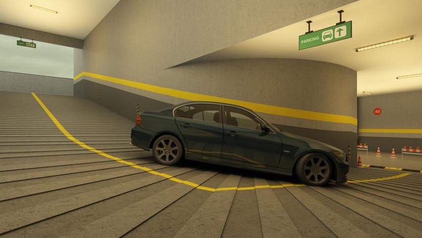 Parking Ramp View
