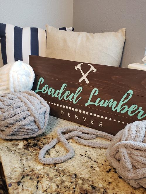 DIY Chunky Knit Blanket To Go!