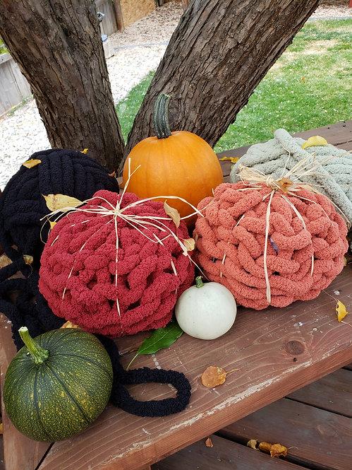 Chunky Knit  Pumpkins Workshop, October 21st 6:00 PM