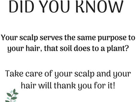 Don't Forget Your Scalp