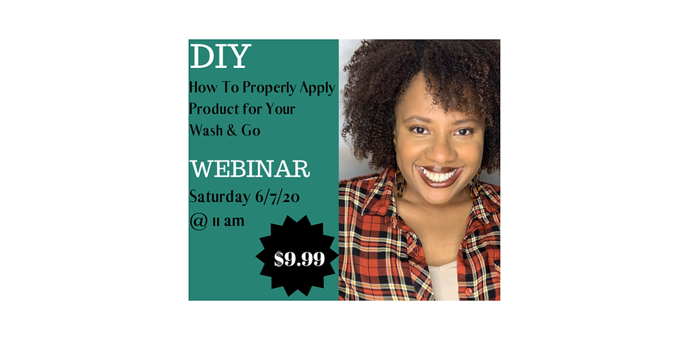 How to Properly Apply Product For Your Wash & Go