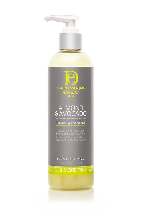 Almond & Avocado Moisturizing & Detangling Sulfate-Free Shampoo
