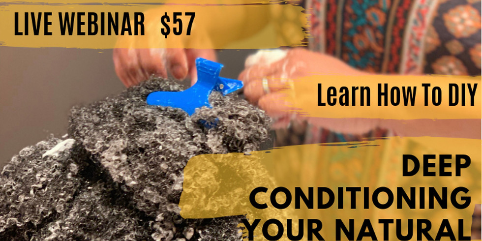 Lear How To DIY Deep Conditioning Your Natural Hair