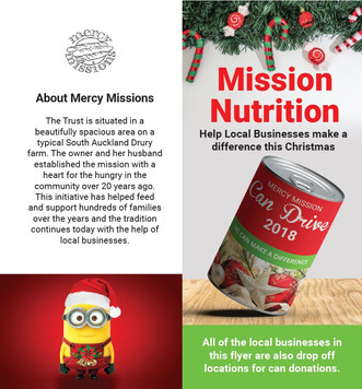 Mission Nutrition — supporting local charity