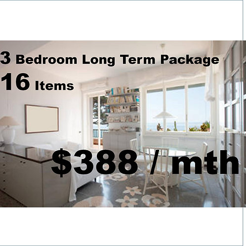 3 bedroom long term package