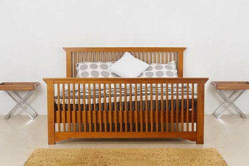 Queen Size Bed (BQWBR#001)