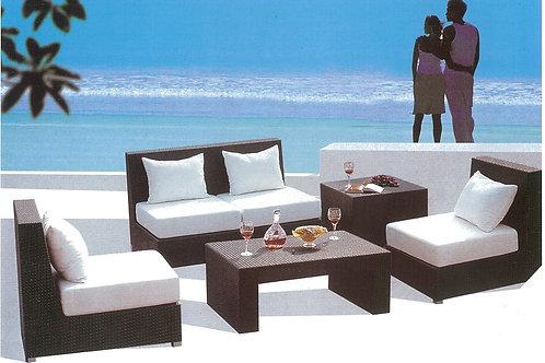 Outdoor Sofa Set (OD2111W#02)