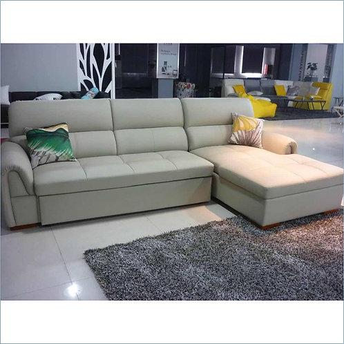 L Shape Sofa Bed Fabric (SFBL3F#15)
