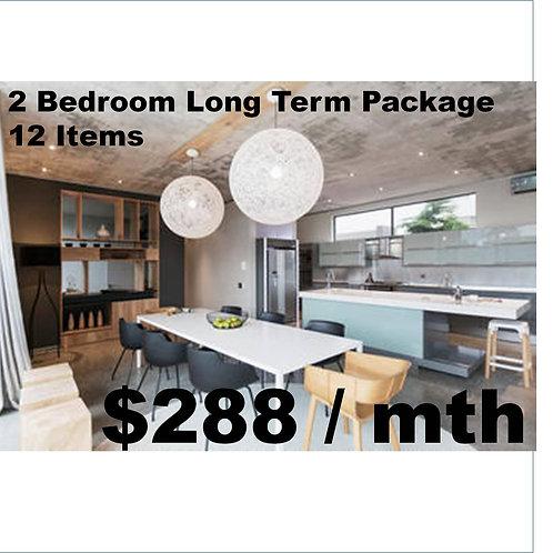 2 bedroom long term package