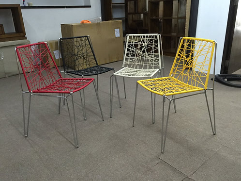 Rattan Coloured Chair