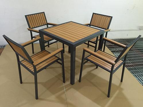 Wooden Dining Set (ODT41WD#01)