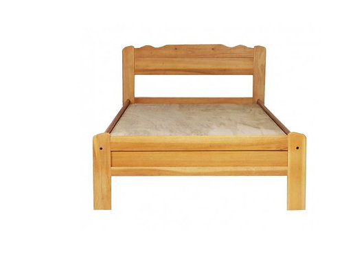 Wooden Single Bed (BSW#04)