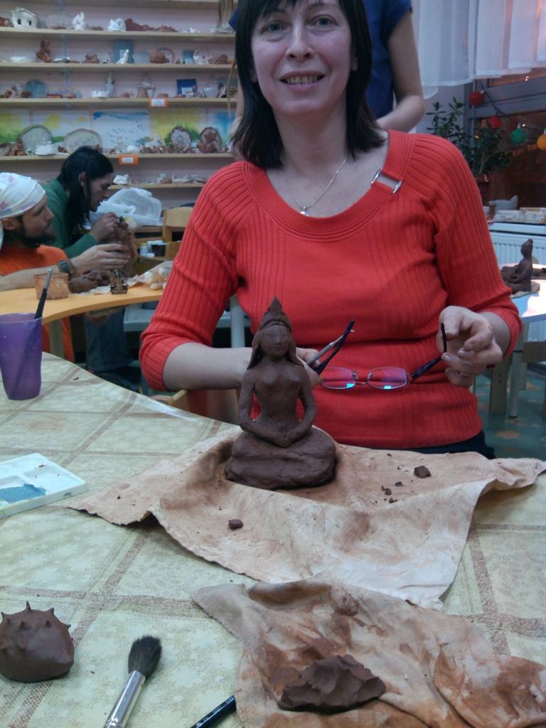 Мастер-класс по скульптуре